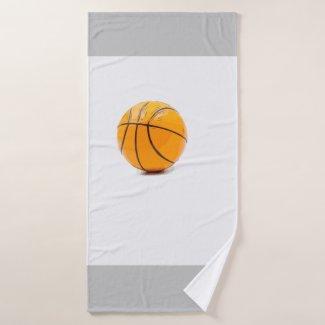 Basketball Bath Towel