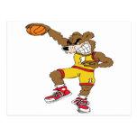 Basketball-Bear Post Card