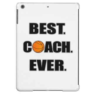Basketball Best Coach Ever iPad Air Covers