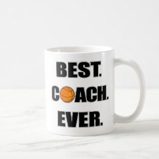 Basketball Best Coach Ever Coffee Mug