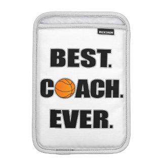 Basketball Best Coach Ever iPad Mini Sleeve