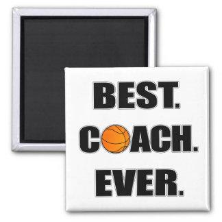 Basketball Best Coach Ever Magnet