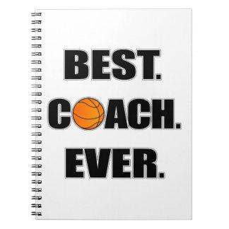 Basketball Best Coach Ever Notebook