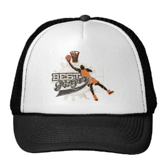 Basketball Best Player Tshirts and Gifts Trucker Hat