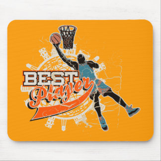 Basketball Best Player Tshirts and Gifts Mouse Pad