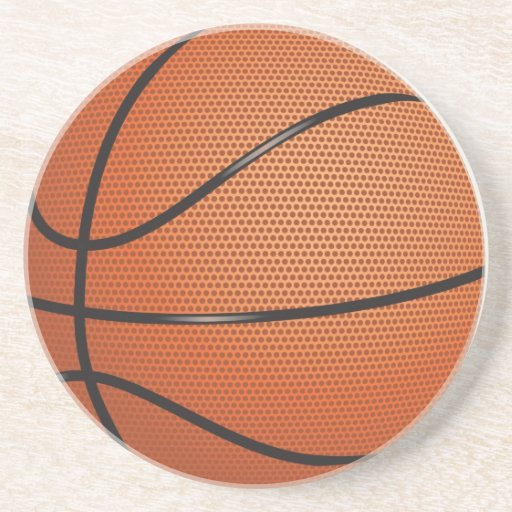 Basketball Beverage Coaster