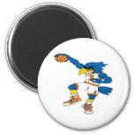 Basketball-Bird Fridge Magnet