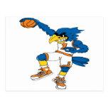 Basketball-Bird Postcard