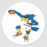 Basketball-Bird Sticker