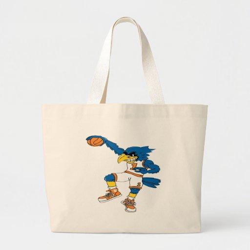Basketball-Bird Tote Bag