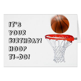 boys basketball greeting cards  zazzle, Birthday card