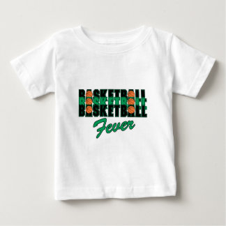basketball black and green baby T-Shirt
