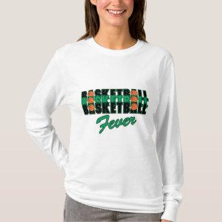 basketball black and green T-Shirt