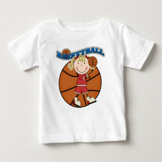 BASKETBALL Blond Girl T-shirts and Gifts