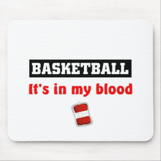 Basketball Blood Mouse Pad