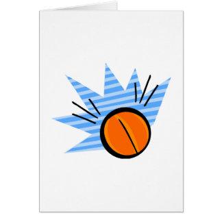 Basketball Bounce Card