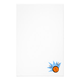 Basketball Bounce Stationery Design
