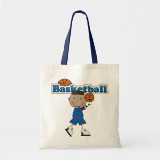 Basketball Boy,African American Canvas Bags