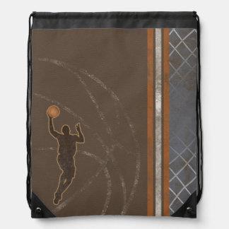 Basketball Boy Drawstring Backpack