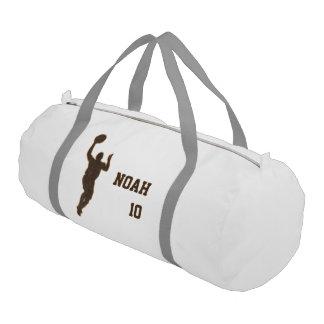 Basketball Boy Man Duffle Gym Bag Duffle Bag