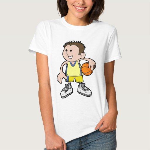 basketball boy tee shirts