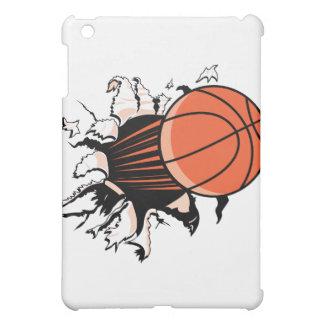 basketball breaking through powerful iPad mini case