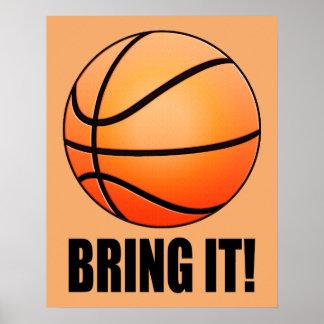 Basketball: Bring It! Poster