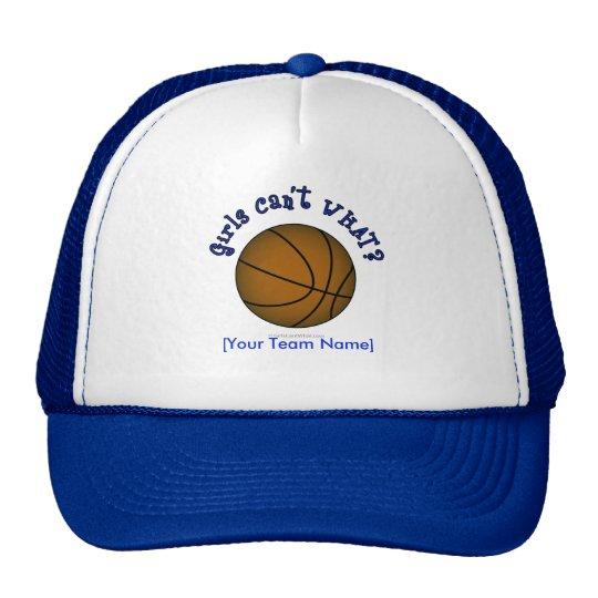 Basketball - Brown/Blue Trucker Hat
