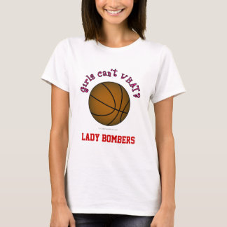 Basketball - Brown/Pink T-Shirt