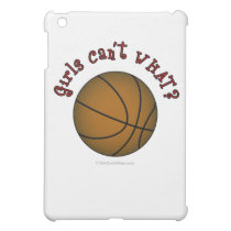 Basketball - Brown/Red iPad Mini Cover