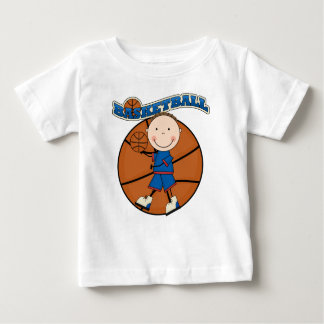 BASKETBALL Brunette Boy Tshirts and Gifts