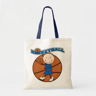 BASKETBALL Brunette Boy Tshirts and Gifts Tote Bag