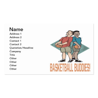 Basketball Buddies Double-Sided Standard Business Cards (Pack Of 100)