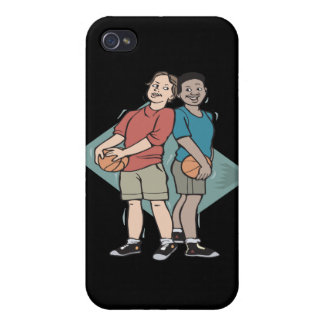 Basketball Buddies Cover For iPhone 4
