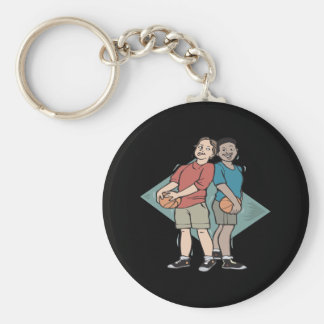 Basketball Buddies Keychain