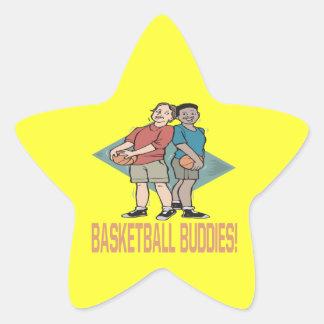 Basketball Buddies Star Sticker