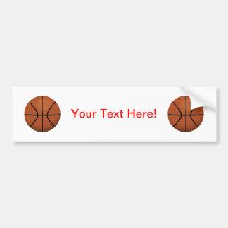 Basketball: Bumper Sticker