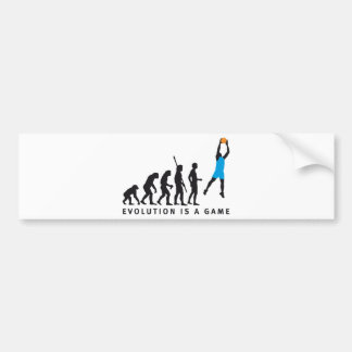 basketball bumper sticker