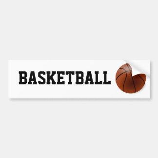 Basketball Bumper Sticker Template