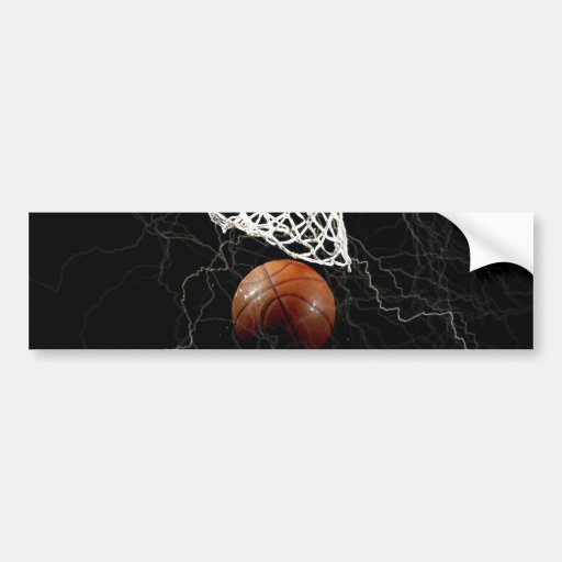 Basketball Bumper Stickers