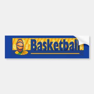 Basketball Bumpter Sticker