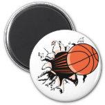 Basketball Burst Magnet