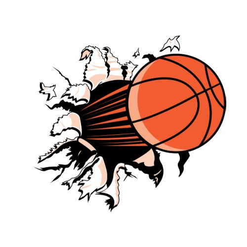 Basketball Burst shirt