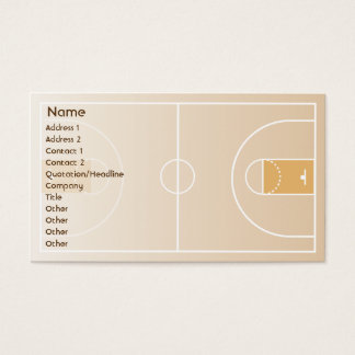 Basketball - Business Business Card