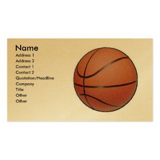 Basketball, Business Card