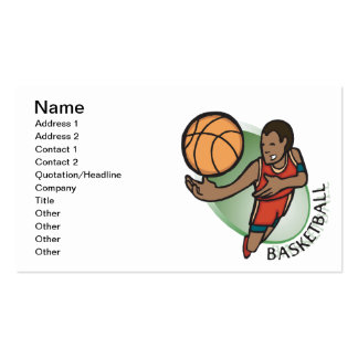 Basketball Business Card Templates