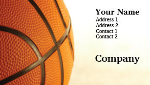 Basketball business cards templates zazzle basketball business card colourmoves
