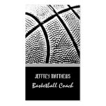 Basketball Business Card Template