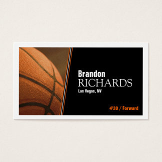 Basketball - Business Cards