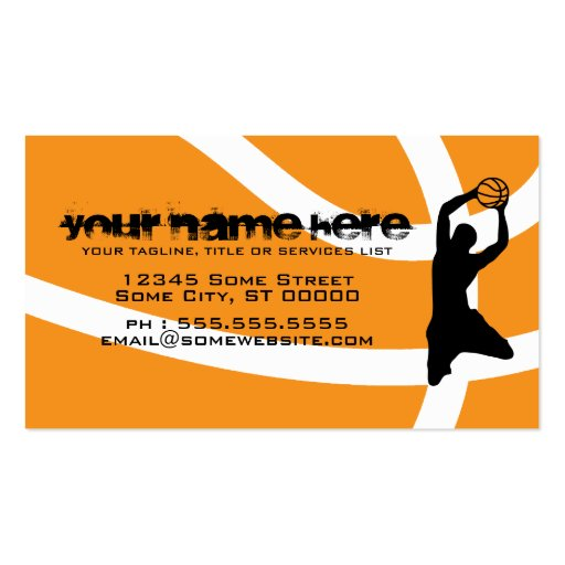 Sports business card business card templates page2 bizcardstudio basketball business cards colourmoves